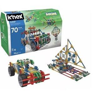 K'NEX 70 Model building Kit 705 Piece